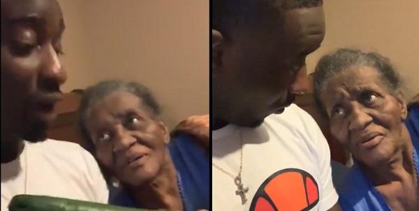 Grandma Can't Believe Women Are Sucking Cucumbers