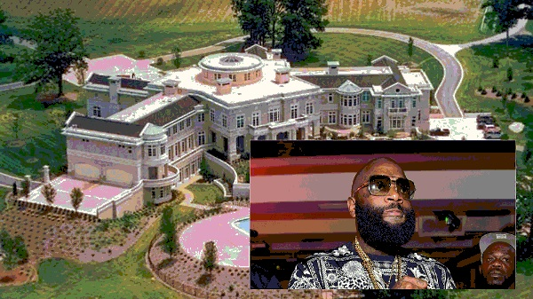 Coming 2 America (Sequel) Filming at Rick Ross' ATL House