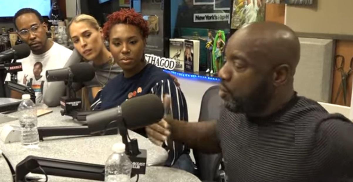 Malik Yoba Speaks On Trans Issues On The Breakfast Club With Carmen Carrera, David Johns + Nala Simone