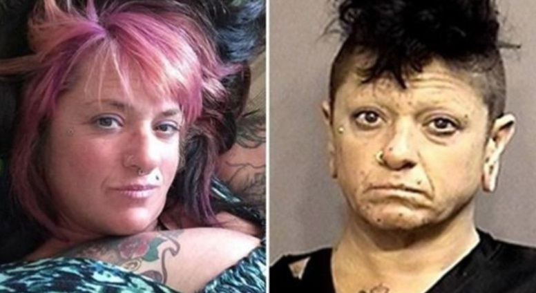Woman arrested after sitting on mans face when he