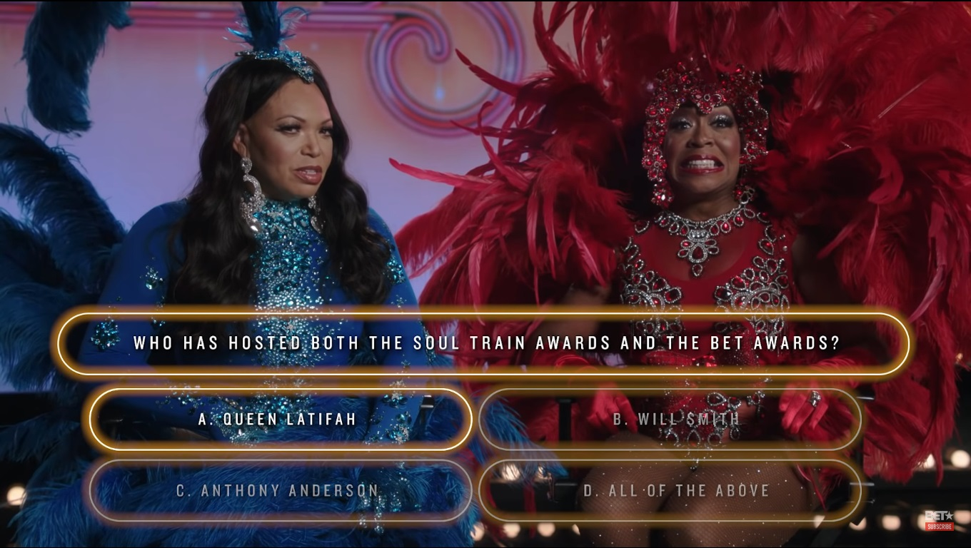 Tichina Arnold & Tisha Campbell Try To Answer R&B Trivia Questions