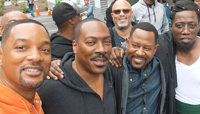Will Smith Shares Funny Video With Eddie Murphy, Martin Lawrence, & Wesley Snipes at Tyler Perry Studios