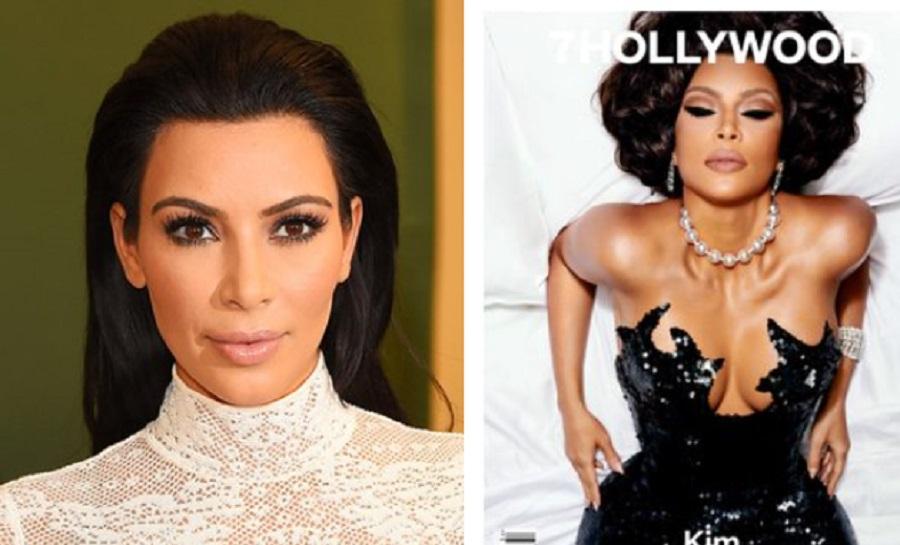Kim Kardashian talks Motherhood on Modest Cover for T