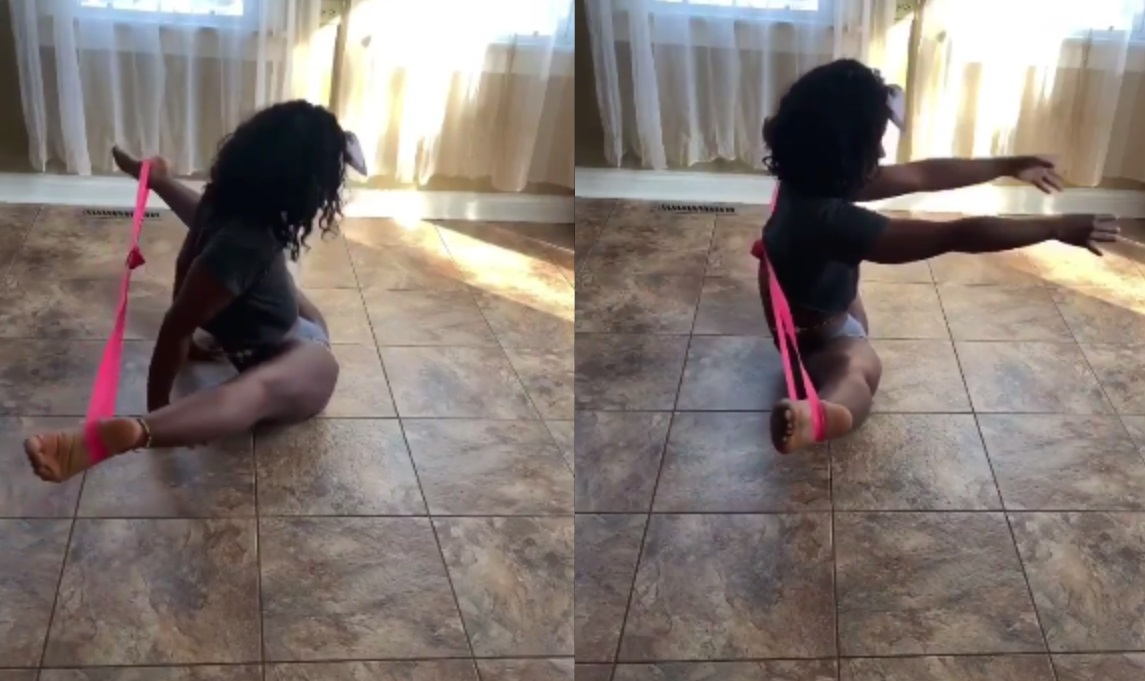 Woman Shows Off Her Extreme Flexibility