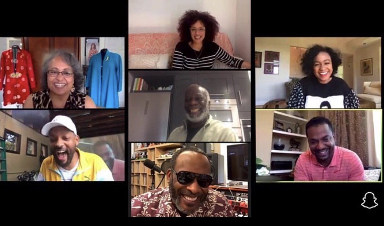 'Fresh Prince' Cast Pay Emotional Tribute To Uncle Phil On Snapchat