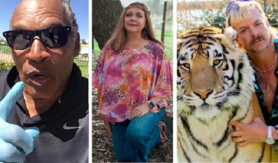 O.J. Simpson Says He Thinks 'Tiger King' Star Carole