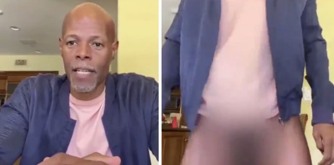 Keenan Ivory Wayans Accidently Shows Too Much During Instagram Live Video