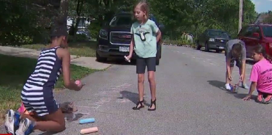 9-Year-Old Writes 'Black Lives Matter' In Front Of Home, Neighbor Calls Police