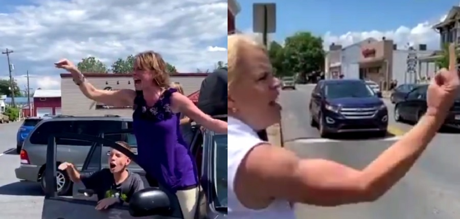 Video Shows Pennsylvania Woman Shouting At Black Lives Matter Protesters
