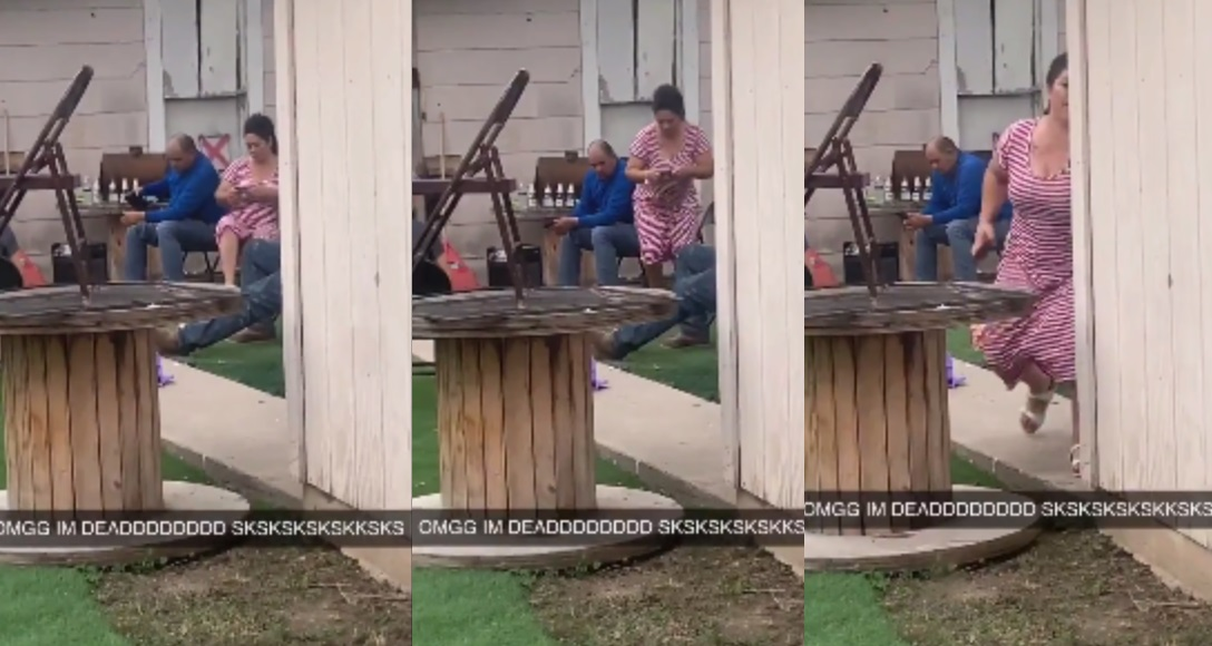Mother Is Ready For Action After Her Daughter Text 'She's being jumped'