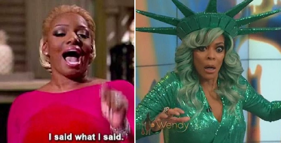 """Nene Leakes Calls Wendy Williams a """"Coke Head"""" and Andy Cohen A """"Racist"""" After They Mention Her Name"""