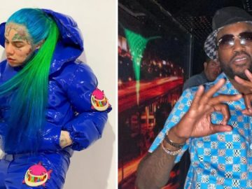 Meek Mill and 6ix9ine Have a Heated Confrontation Outside Atlanta Club