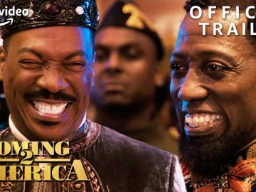 Amazon Prime Drops New Official Trailer for 'Coming 2 America' with Eddie Murphy & Arsenio Hall