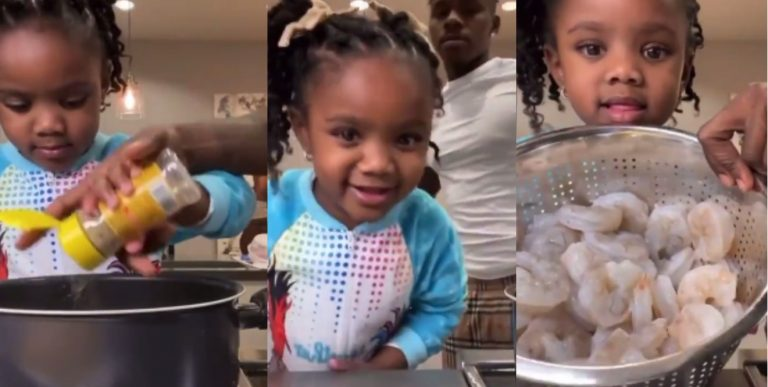 DaBaby & His Daughter Cook Together