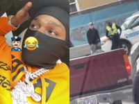Dababy & His Daughter Spot a Man 'Telling' The Police on Them