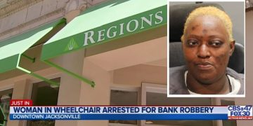 Florida Woman Robs Bank & Gets Arrested After Police Catch Her Fleeing In Her Electric Wheelchair
