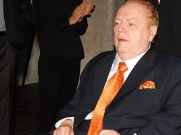 'Hustler' Founder Larry Flynt Passes Away At 78