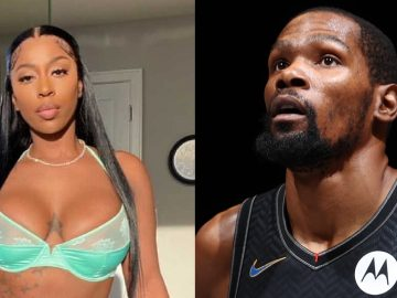 Kevin Durant 'Checks' Kash Doll for Using The Initials 'KD'