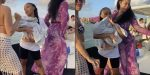 People React to Yaya Mayweather and Her Newborn Baby on a Yacht