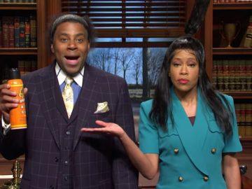 Regina King & Kenan Thompson on SNL Wants Compensation for the Gorilla Glue Girl