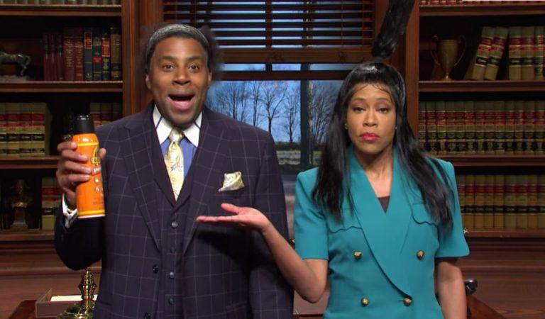 Regina King & Kenan Thompson on SNL Want Compensation for the Gorilla Glue Girl