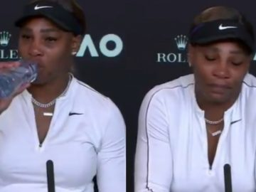 Serena Williams Gets Emotional When Questioned About Her Retirement