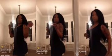 Singer K.Michelle's Butt Implant Appears to Deflate While Dancing on Instagram Live