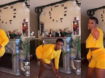 Tessica aka 'Gorilla Glue Girl' Breaks It Down To Rihanna In TikTok Dance
