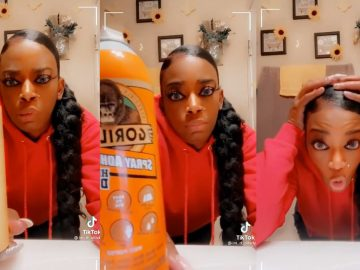 Woman Goes Viral After Using Gorilla Glue In Her Hair
