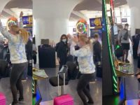 Woman Hits The Jackpot for $300k While Waiting on Her Flight