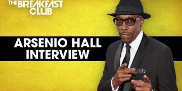 Arsenio Hall Talks 'Coming 2 America'