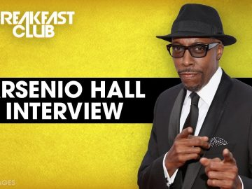 Arsenio Hall Talks 'Coming 2 America'