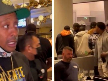 Gillie Da Kid Spots A Group Of Guys Having A Dice Game In A Atlanta Hotel