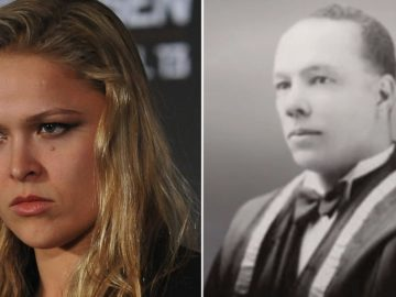 Ronda Rousey Is Trending After News Breaks That Her Black Great-Grandfather Was Dr. Alfred E. Waddell