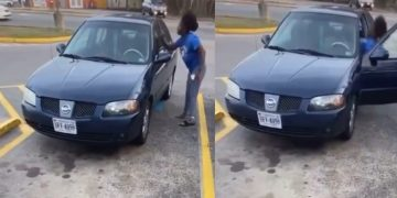 Woman Pulls A Double Kick Mortal Kombat Move On Someone