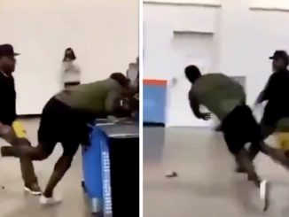 Guy Mistaken For NFL Player Gets Dropped Multiple Times In A Walmart