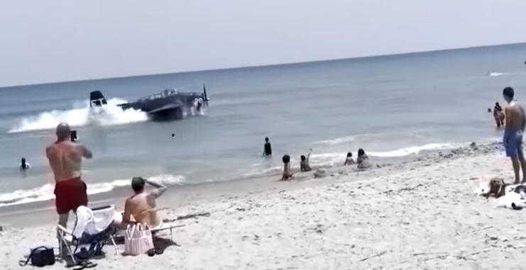 Insane Video Shows A Plane Crash Landing At A Beach In Florida