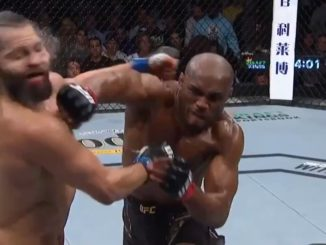 Kamaru Usman Puts Jorge Masvidal To Sleep During UFC261