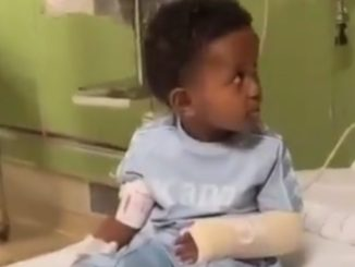 Lil Man Tries His Best To Fight Off The Sedation