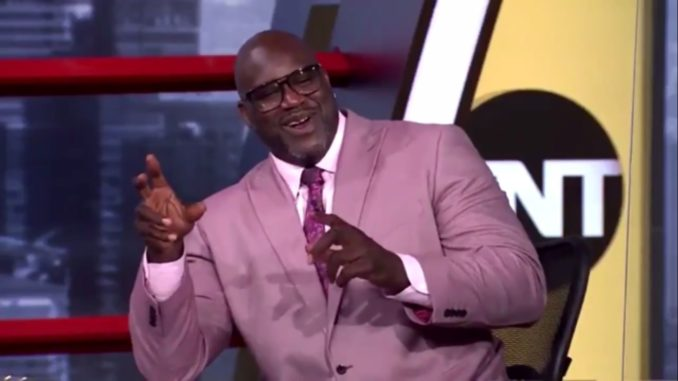 Shaq Mentions Paul Pierce And Immediately Starts Laughing