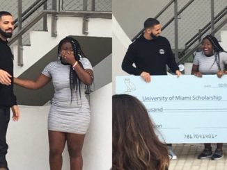 Drake Congratulates College Graduate That Received $50k Scholarship