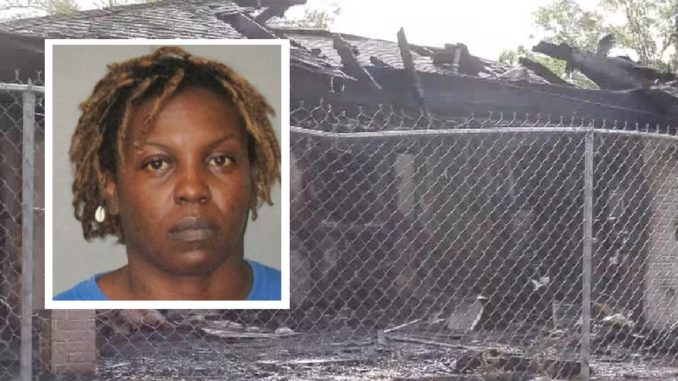 Enraged Woman Sets Home On Fire With 2 Children Inside