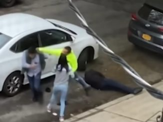 Father Gets Knocked Out Cold and Robbed During Road Rage Fight Caught on Camera