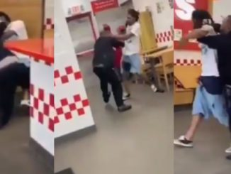 Five Guys Manager And Customer Throw Blows Over Mask Dispute