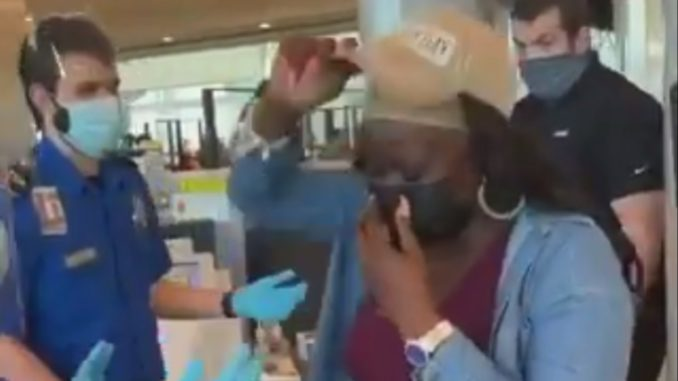 TSA Could Have Let Her Keep That Hat On