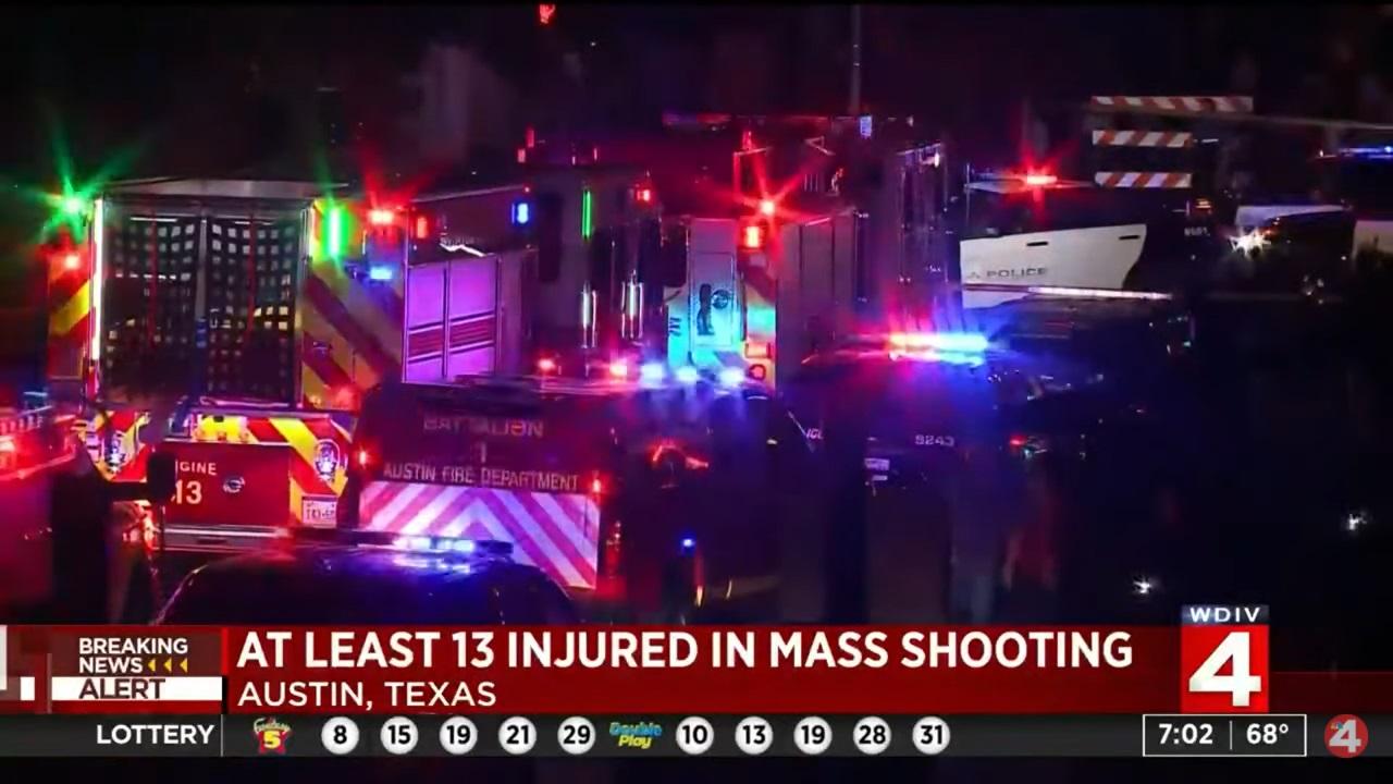 13 Injured in Mass Shooting in Austin, Texas