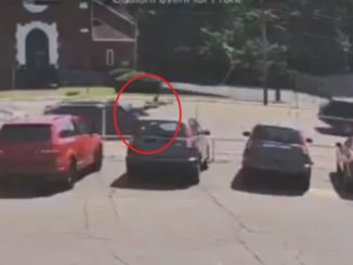 Viral Video Shows A Person Working On Their Vehicle Getting Flipped After Being Rear-Ended