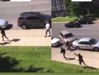 Mother Cries Out For Her Children As Multiple Shots Ring Out