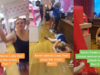 Video Shows Karen Attack A Lady and Then Go Right Into Victim Mode