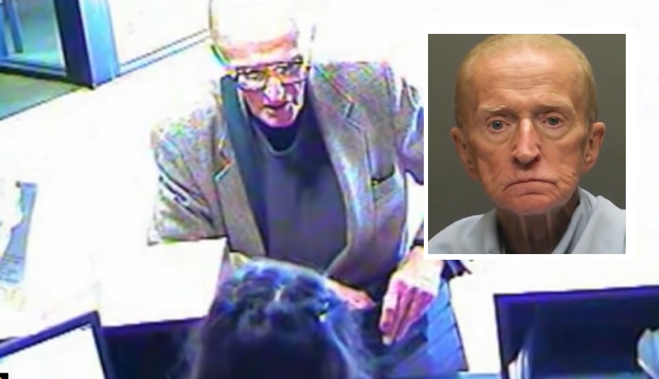 7 Months After Being Released From Prison 84-Year-Old Man Robs a Bank in Arizona and Gets 21 Years in Prison